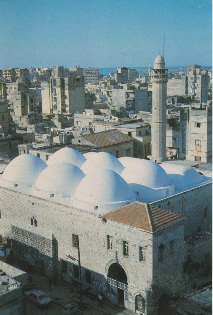 المسجد الجديد في اللاذقية عام 1984