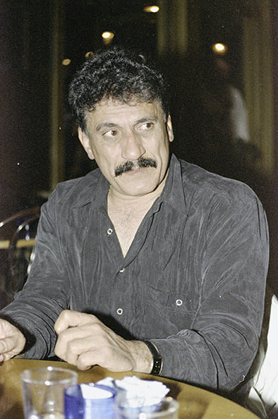 دمشق 1994- الممثل عبد الهادي الصباغ