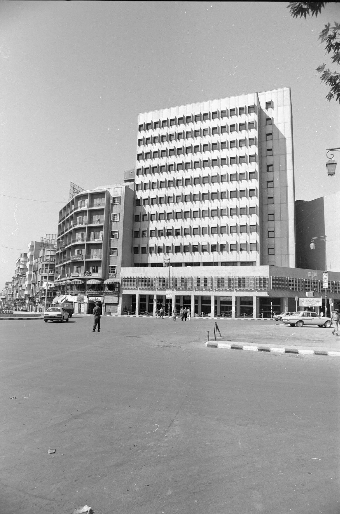 المصرف التجاري السوري - الادارة العامة -دمشق عام 1993