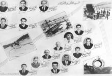 صورة سد الفرات – المشرفون في في قسم الحقن والتفجير عام 1971
