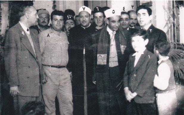صورة القارئ عبد الباسط عبد الصمد في اللاذقية عام 1959