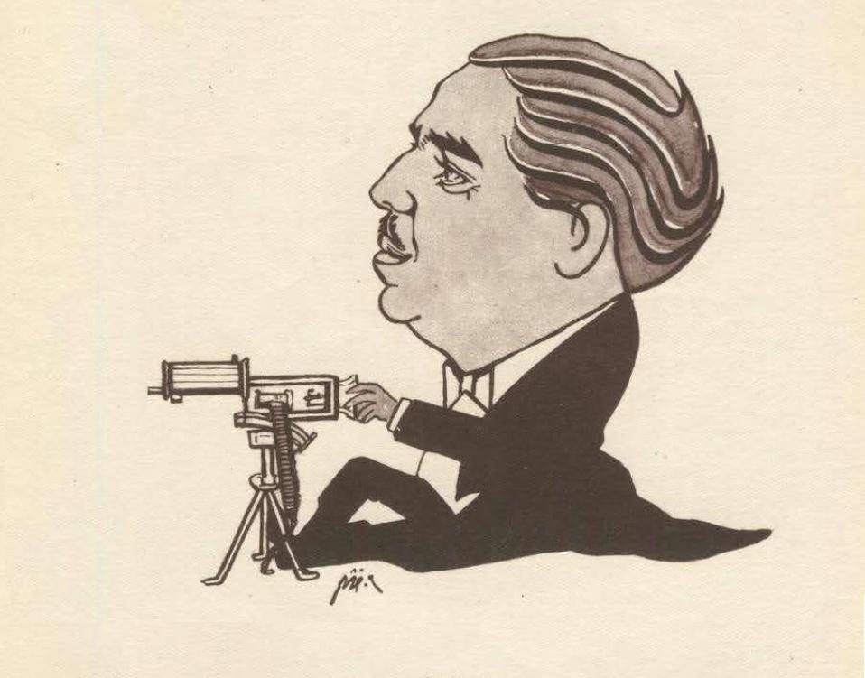 كاريكاتير - أحمد الشرباتي عام 1947