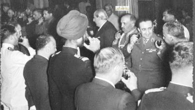 صورة زيارة شكري القوتلي إلى الباكستان عام 1957 (21/4)