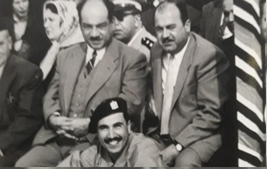 صورة عدنان محي الدين وبسام العسلي في حفل تخريج دورة المظليين
