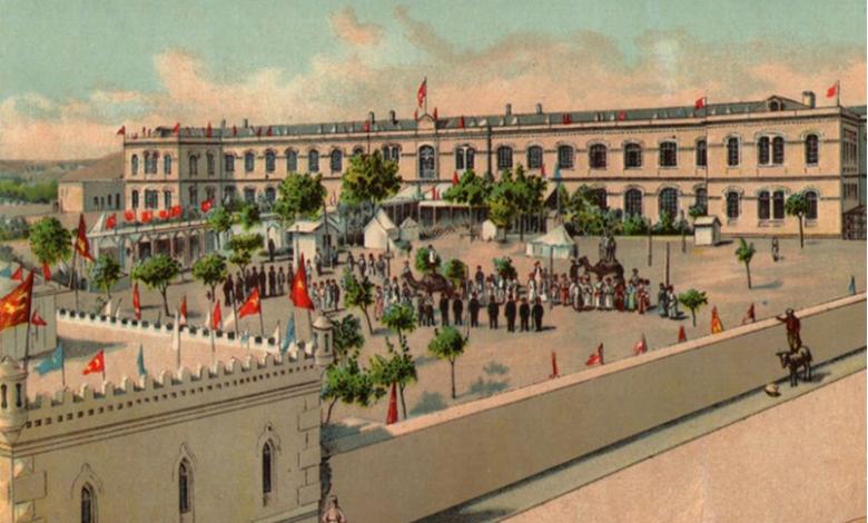صورة عمرو الملاّح: النخبة الحلبية تنظم أول معرض زراعي وصناعي في بلاد الشام عام 1903