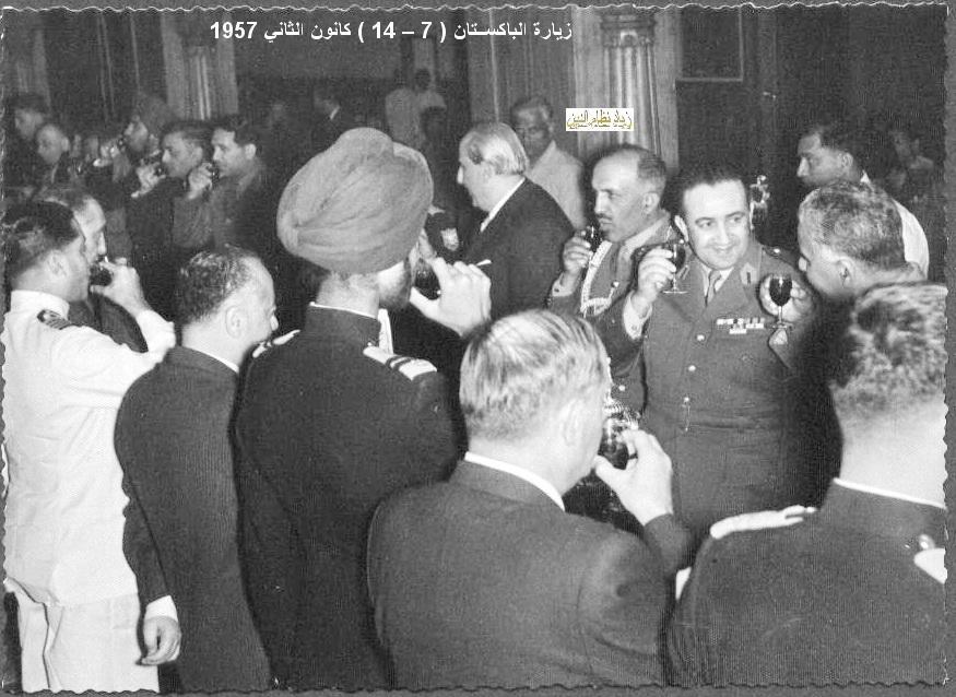 زيارة شكري القوتلي إلى الباكستان عام 1957 (21/4)