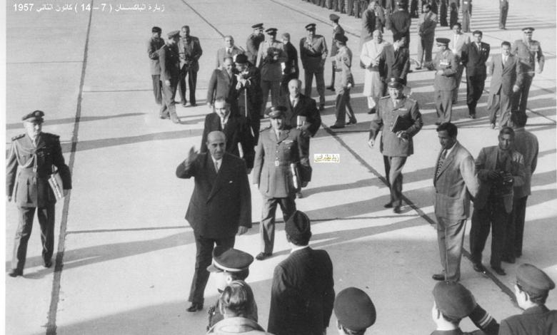 صورة زيارة شكري القوتلي إلى الباكستان عام 1957 (16/7)
