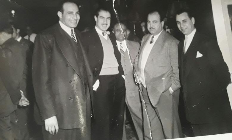صورة عدنان محي الدين وعدلي حشاد في حلب 1959