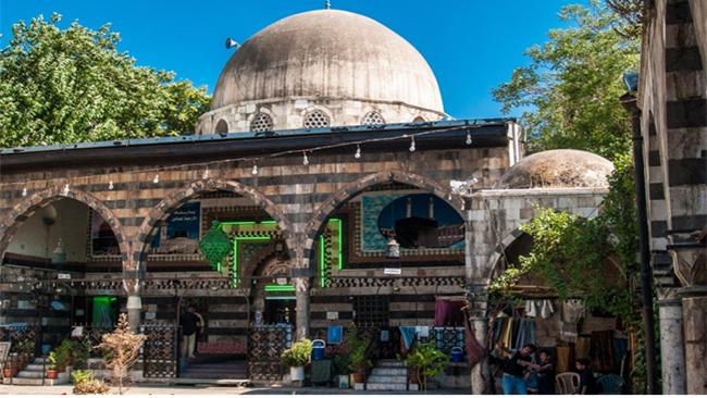 صورة مساجد دمشــــق .. مسجد المدرسة السليمانية