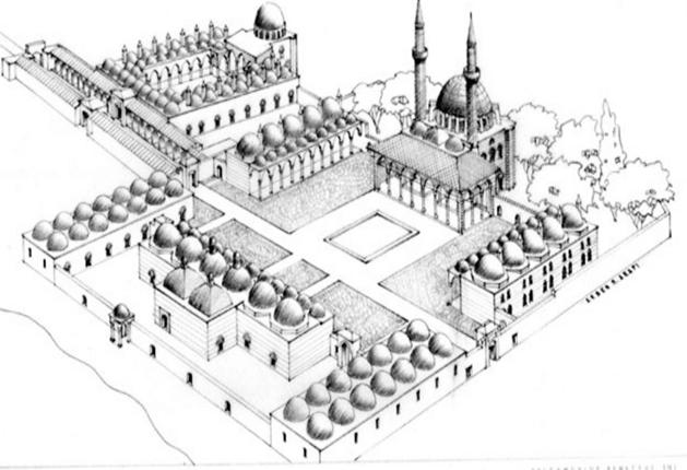 مساجد دمشــــق .. مسجد المدرسة السليمانية