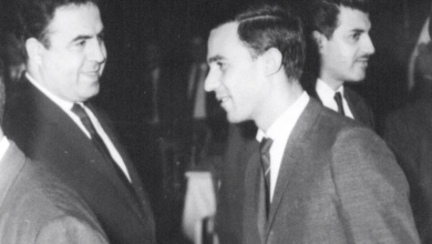 صورة دمشق 1966- نور الدين الأتاسي ونصر شمالي