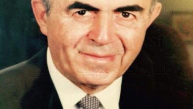 صورة الرئيس نور الدين الأتاسي قبيل وفاته عام 1992
