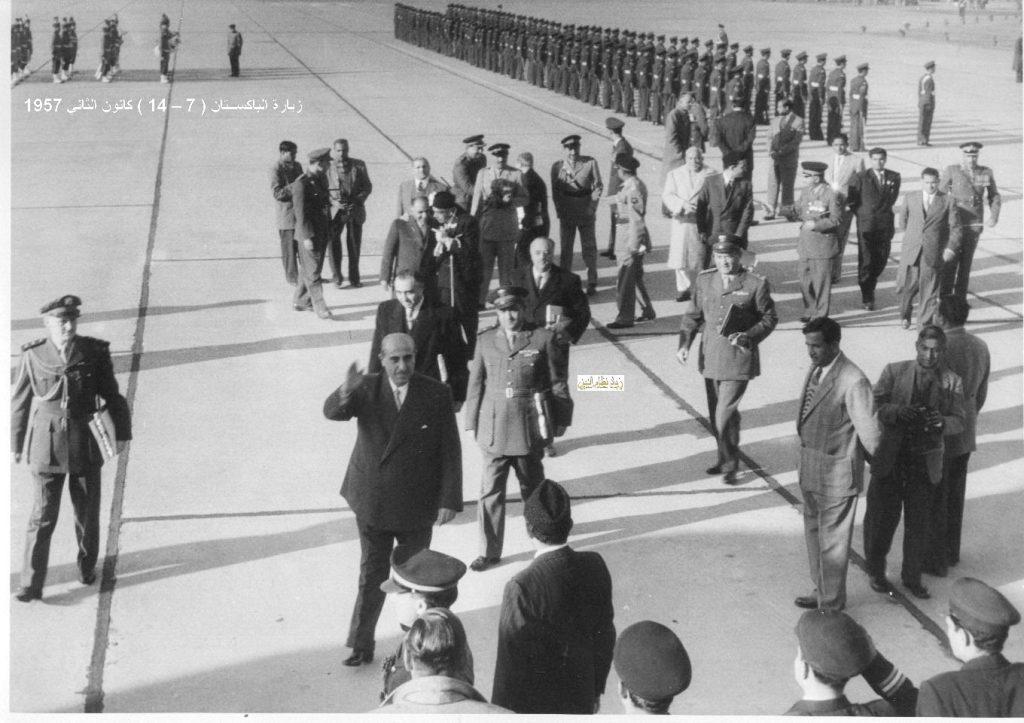 زيارة شكري القوتلي إلى الباكستان عام 1957 (16/7)