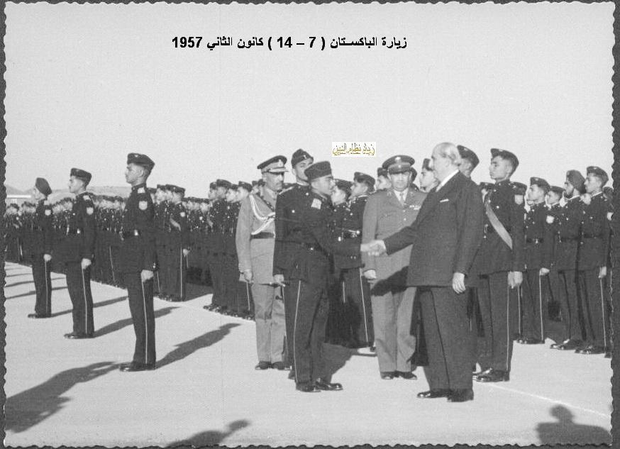 زيارة شكري القوتلي إلى الباكستان عام 1957 (16/9)