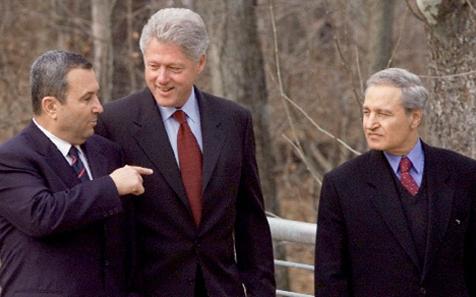 صورة المفاوضات السورية – الإسرائيلية1991 -2000
