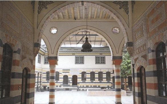 بيت فارحي.. ثاني أكبر قصور دمشق اليهوديّة