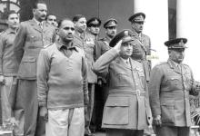 صورة توفيق نظام الدين رئيس الأركان العامة في الباكستان (5/4)