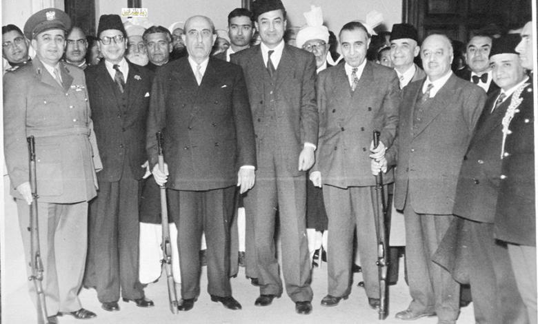 صورة فيديو زيارة شكري القوتلي إلى الباكستان عام 1957