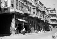 صورة دمشق 1965 – طريق الصالحية وتفرعاته (3)