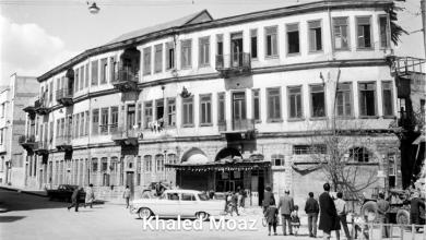 صورة دمشق 1965 – طريق الصالحية وتفرعاته (1)