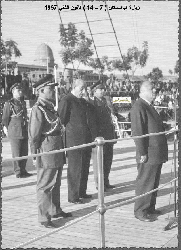 زيارة شكري القوتلي إلى الباكستان عام 1957 (16/10)