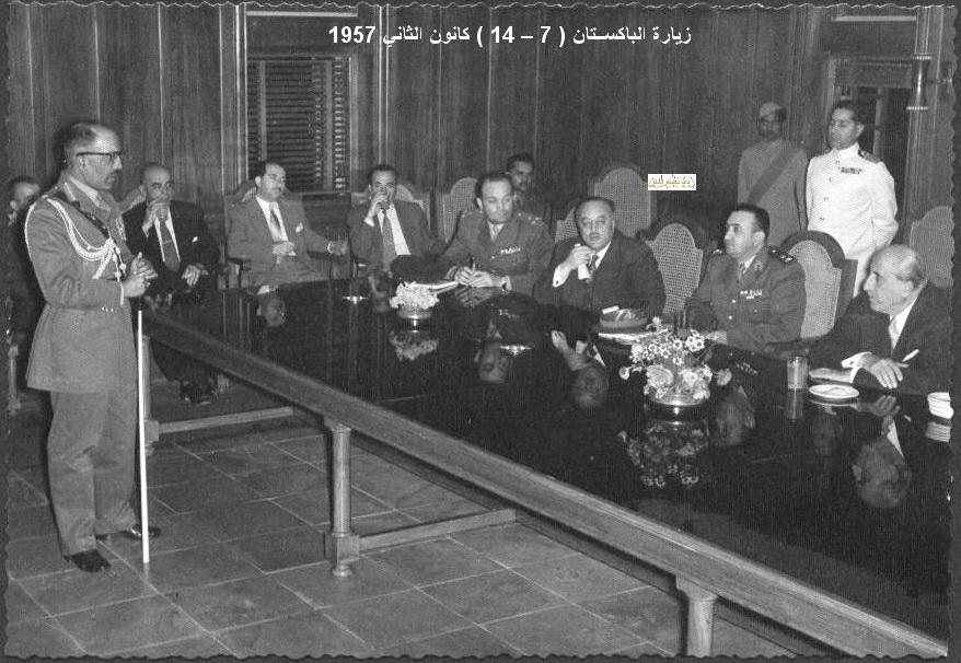 زيارة شكري القوتلي إلى الباكستان عام 1957 (16/12)