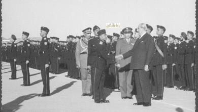 صورة زيارة شكري القوتلي إلى الباكستان عام 1957 (16/9)