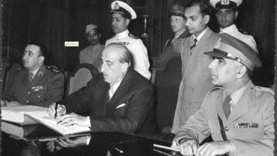 صورة زيارة شكري القوتلي إلى الباكستان عام 1957 (16/13)