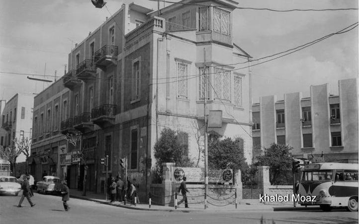 صورة دمشق 1965 – طريق الصالحية وتفرعاته (4)