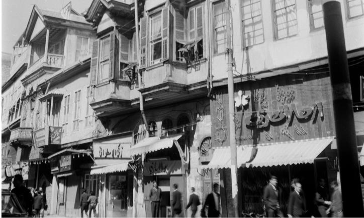 صورة دمشق 1965 – طريق الصالحية وتفرعاته (5)