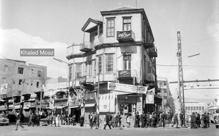صورة دمشق 1965 – طريق الصالحية وتفرعاته (6)