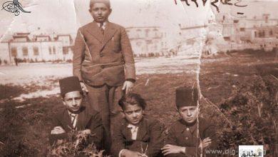 صورة طلاب مدرسة التجهيز بحلب بالطربوش عام 1937م