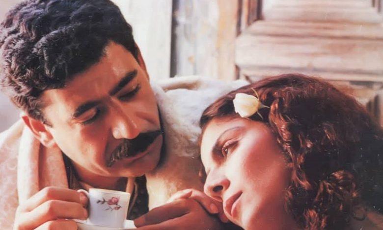 صورة فارس الحلو وصباح الجزائري في فيلم الليل عام 1991