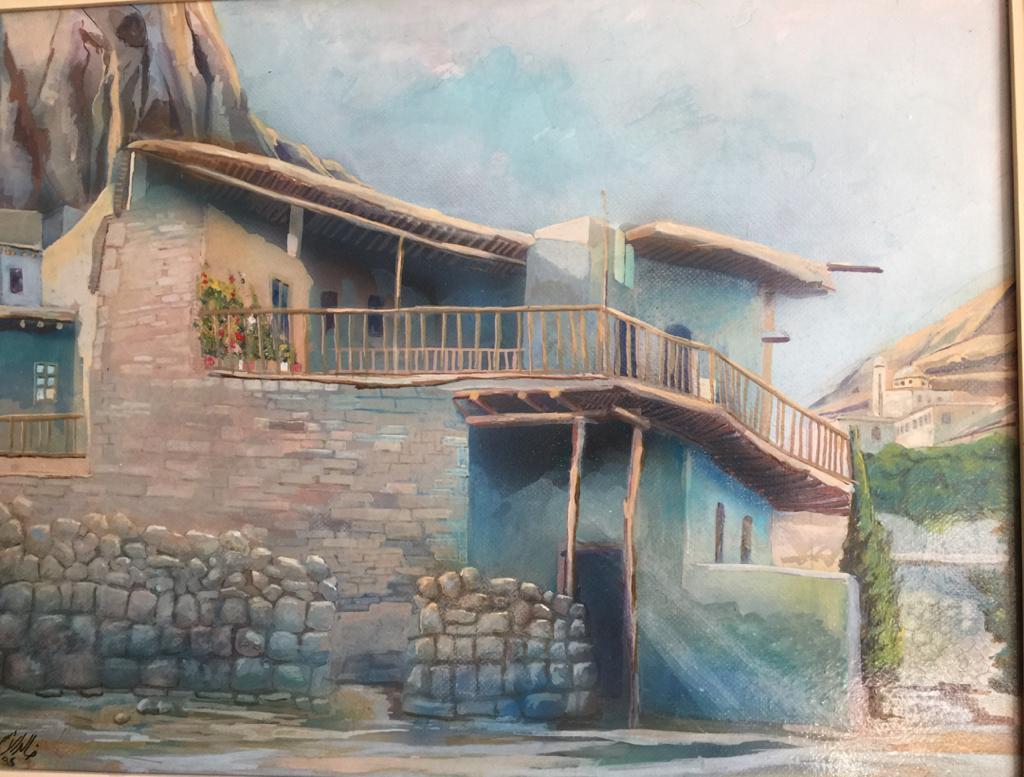 معلولا التسعينات .. لوحة للفنان خالد الأسود (2)