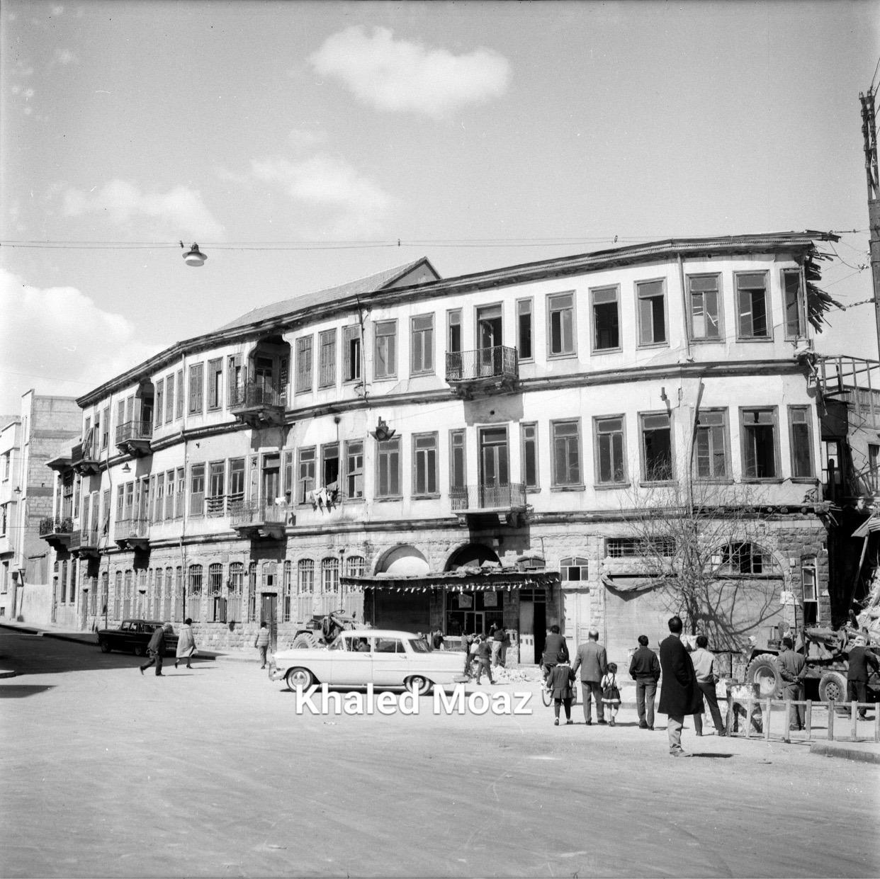 دمشق 1965 - طريق الصالحية وتفرعاته (1)