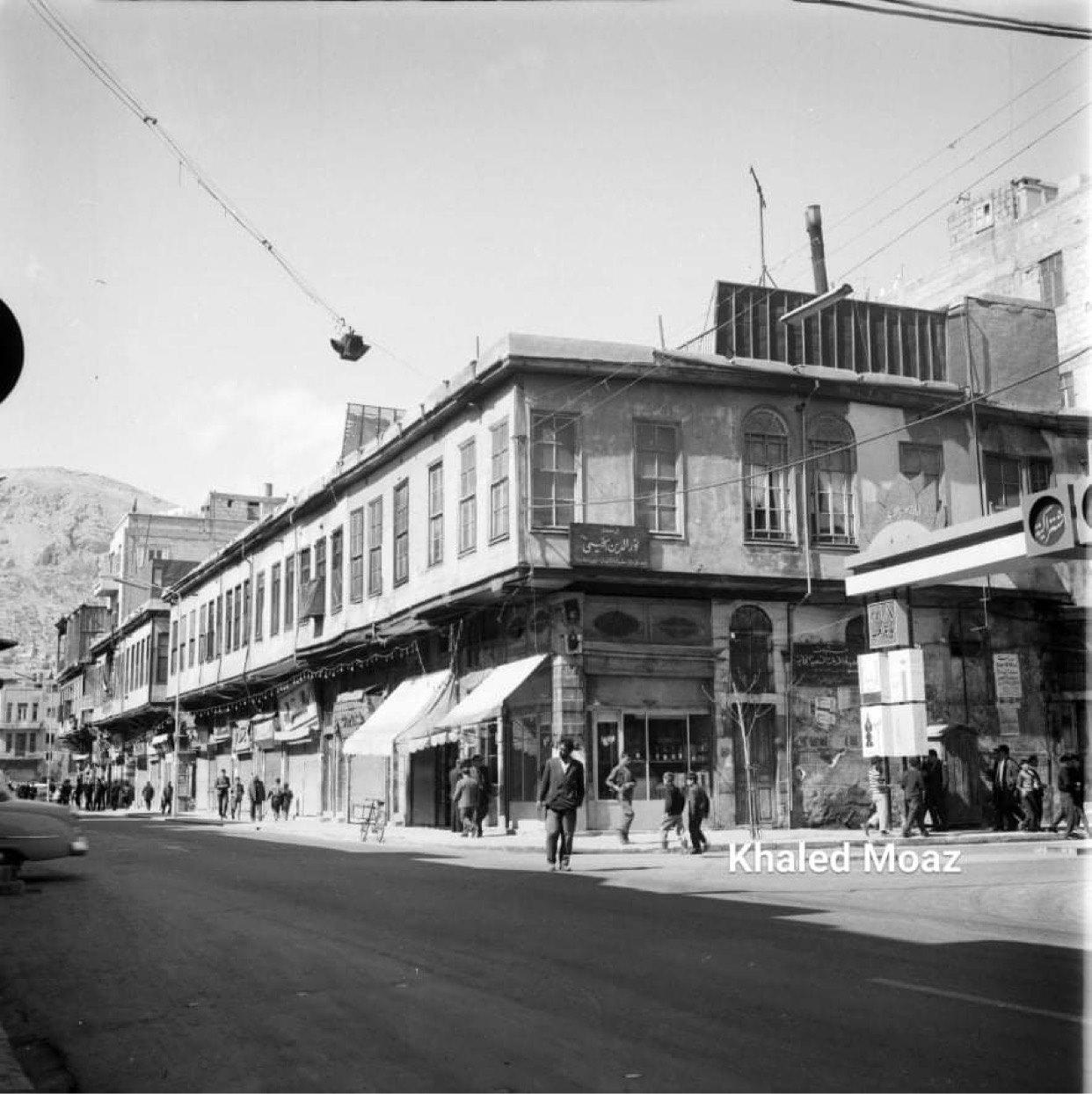 دمشق 1965 - طريق الصالحية وتفرعاته (2)