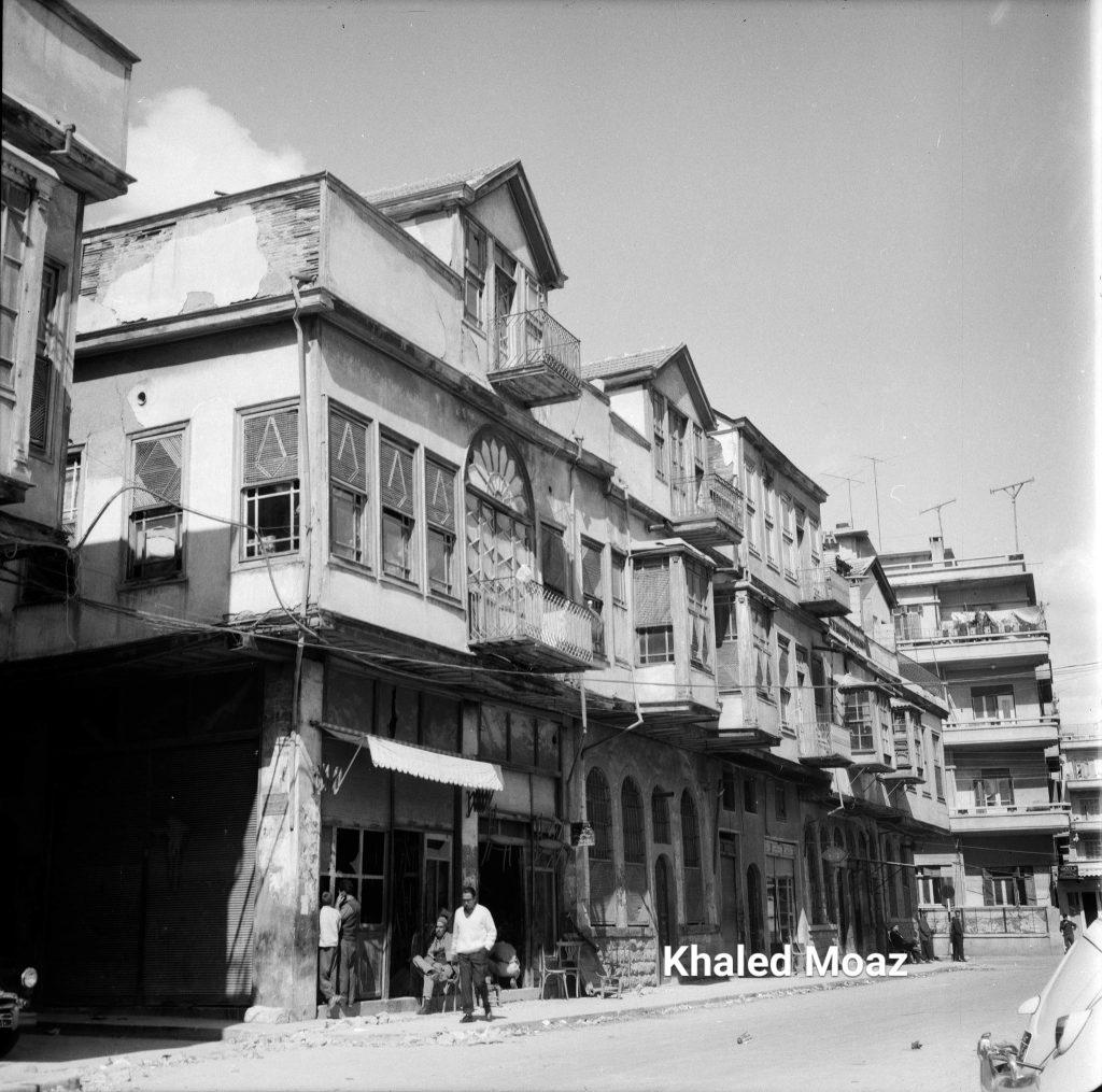 دمشق 1965 - طريق الصالحية وتفرعاته (3)