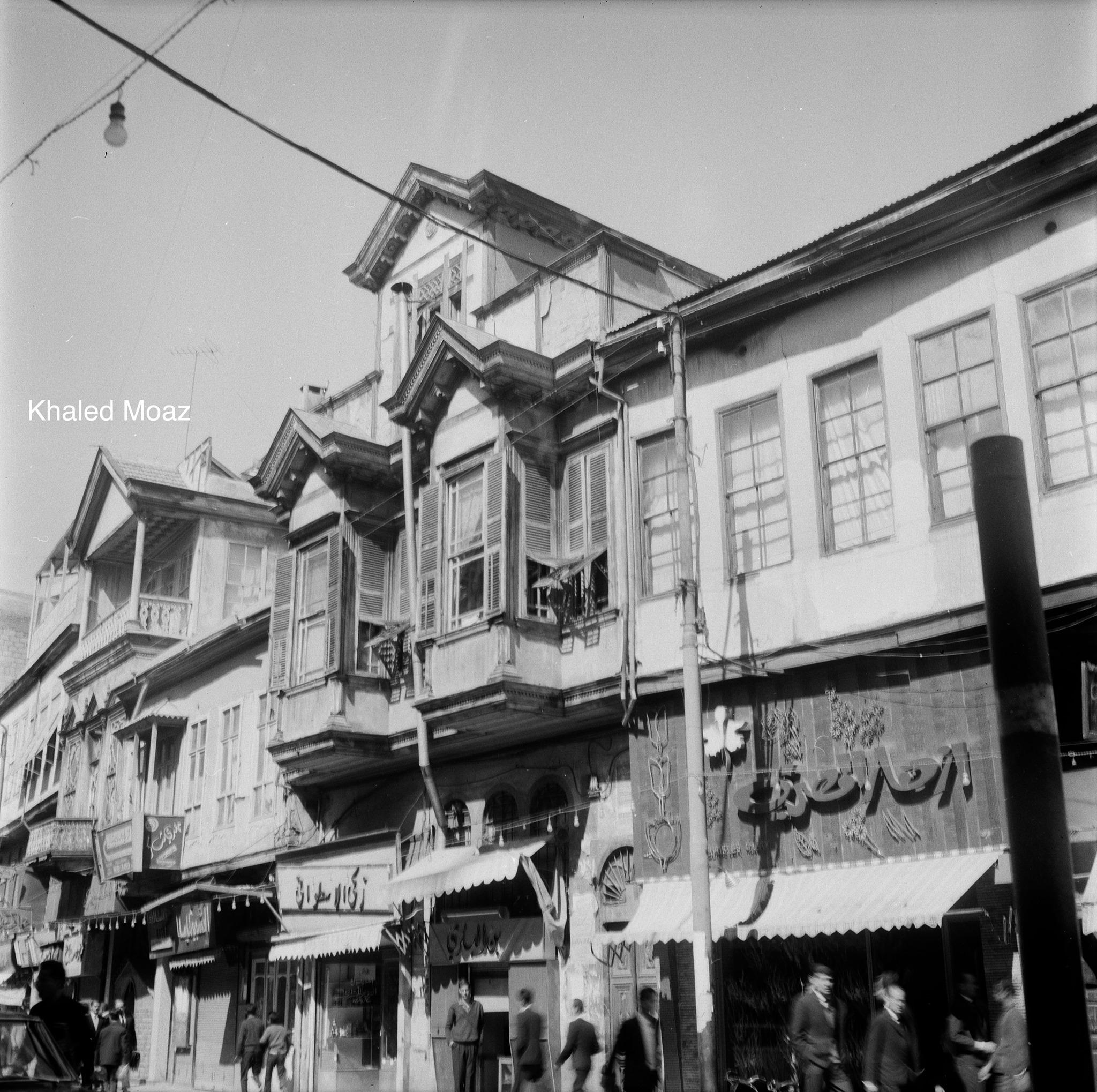 دمشق 1965 - طريق الصالحية وتفرعاته (5)