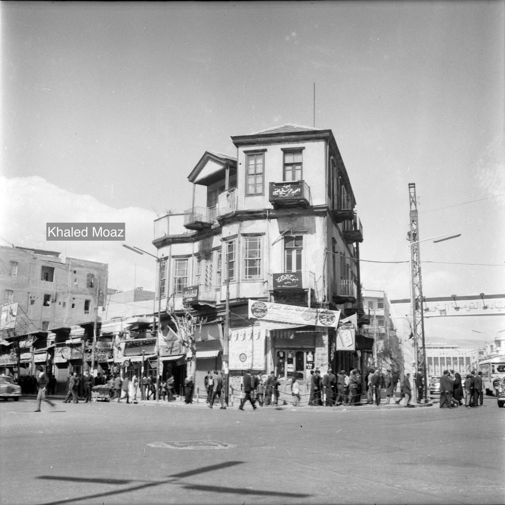 دمشق 1965 - طريق الصالحية وتفرعاته (6)