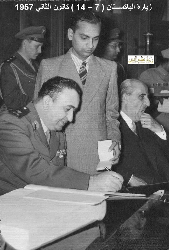 توفيق نظام الدين رئيس الأركان العامة في الباكستان(5/2)