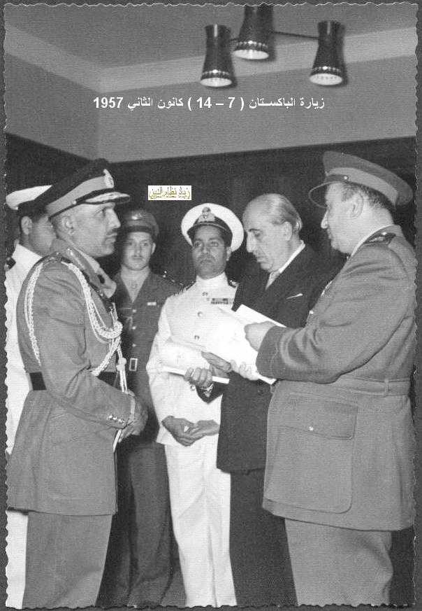 زيارة شكري القوتلي إلى الباكستان عام 1957 (16/14)