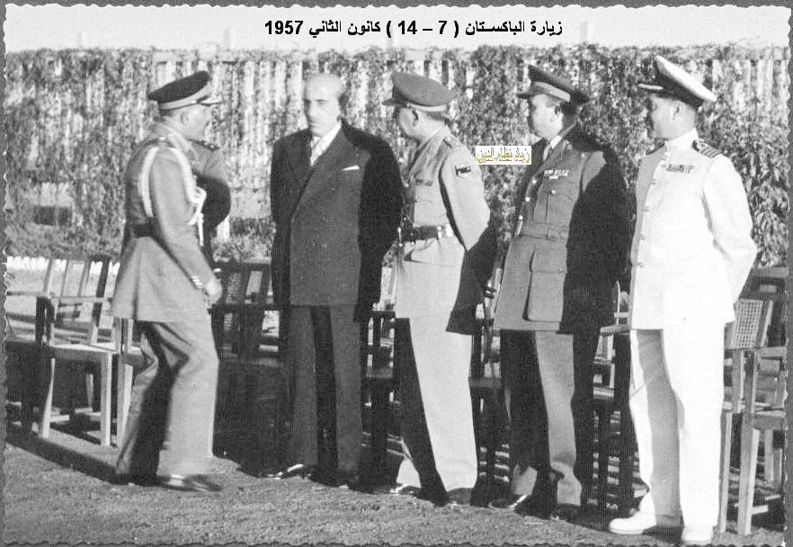 زيارة شكري القوتلي إلى الباكستان عام 1957 (16/11)