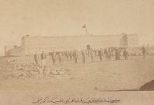 صورة من الأرشيف العثماني – القشلة (الثكنة) الحميدية بجبل حوران