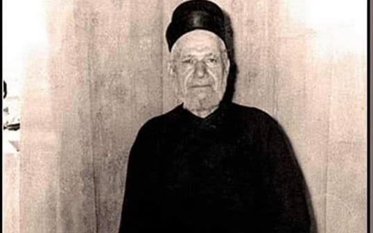 صورة حاخام سورية الأكبر نسيم اسحاق اندبو في ستينيات القرن العشرين