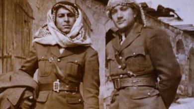 صورة عبد الغني قنوت ومصطفى حمدون في فلسطين عام 1948