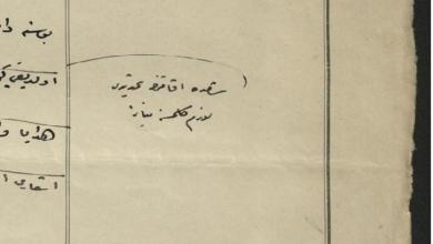 صورة من الأرشيف العثماني 1912- تعذر بقاء المحمل الشريف في دمشق بسبب الكوليرا
