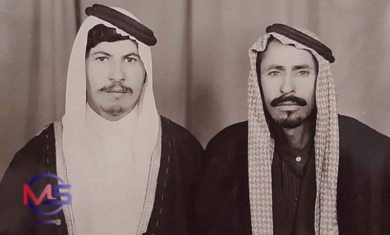 صورة صبحي المذود وذباح الأسود في الرقة 1980