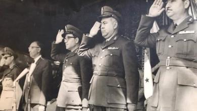 صورة عرض عسكري بمناسبة عيد الجلاء في 17 نيسان 1963م