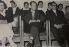 صورة طاقم مستشفى المجتهد في دمشق عام 1957