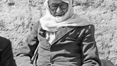 صورة مُزارع  من الغوطة الشرقية باللباس التقليدي عام 1982 (1)